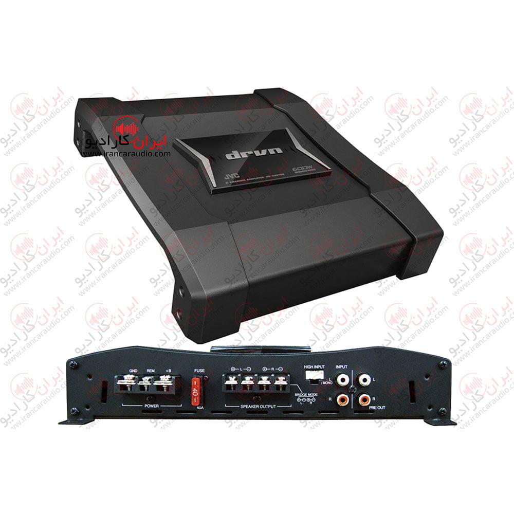 معرفی آمپلی فایر 2 کانال جی وی سی مدل KS-AX5102