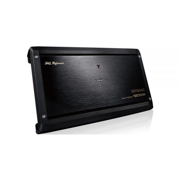 KAC-HQR1004 یک آمپلیفایر چهارکانال است و با امکانات مناسبی طراحی و تولید شده است. آمپلی فایر پرقدرت کنوود، با بهرهمندی از بیشینه توان خروجی 1200 وات، قدرت صدای
