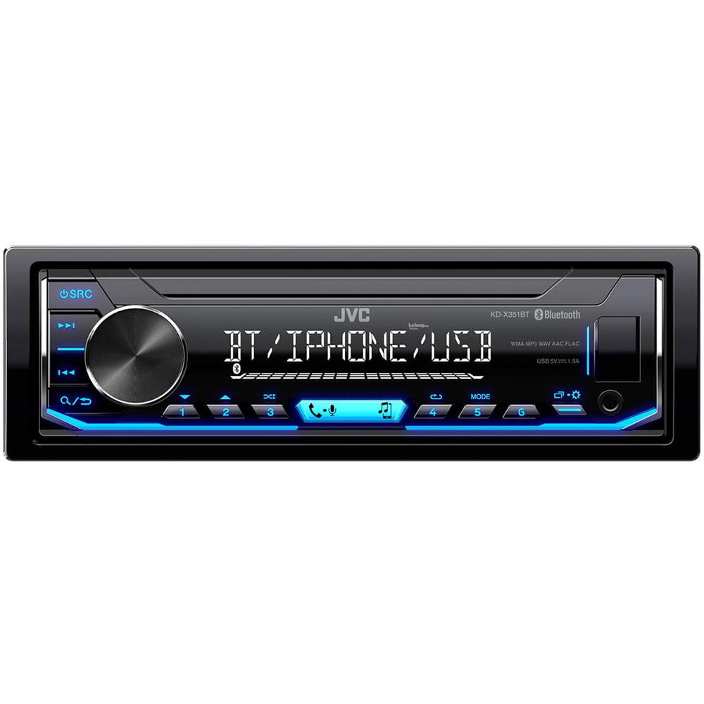 معرفی پخش بدون سی دی خوان جی وی سی مدل KD-X351BT