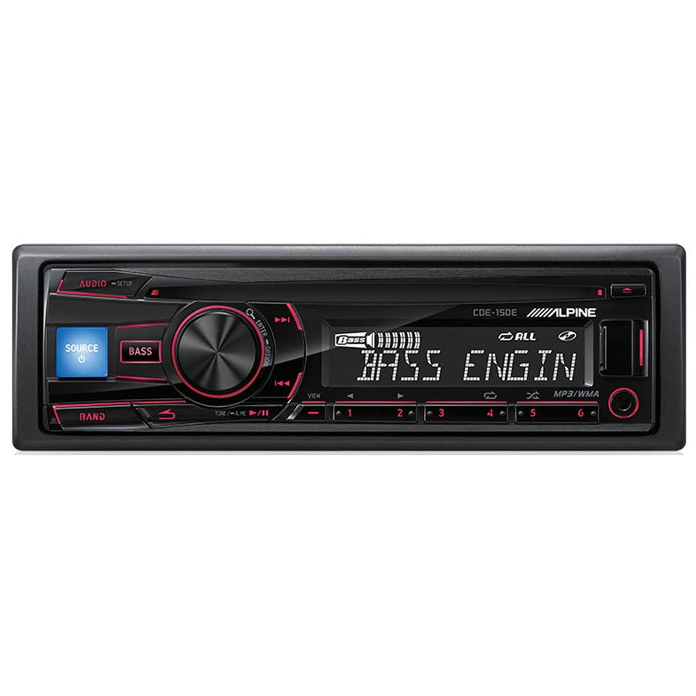 پخش صوتی CDE-150E از برند آلپاین