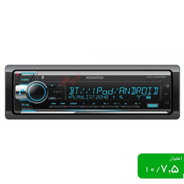 رادیو پخش KDC-X5200BTM یک دستگاه میان رده با امکانات یک هدیونیت نیمه حرفه ای، دستگاهی که به خاطر امکانات خوب و قیمت مناسب (نسبت به امکانا