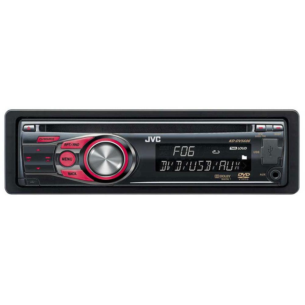 معرفی پخش جی وی سی مدل KD-DV5606
