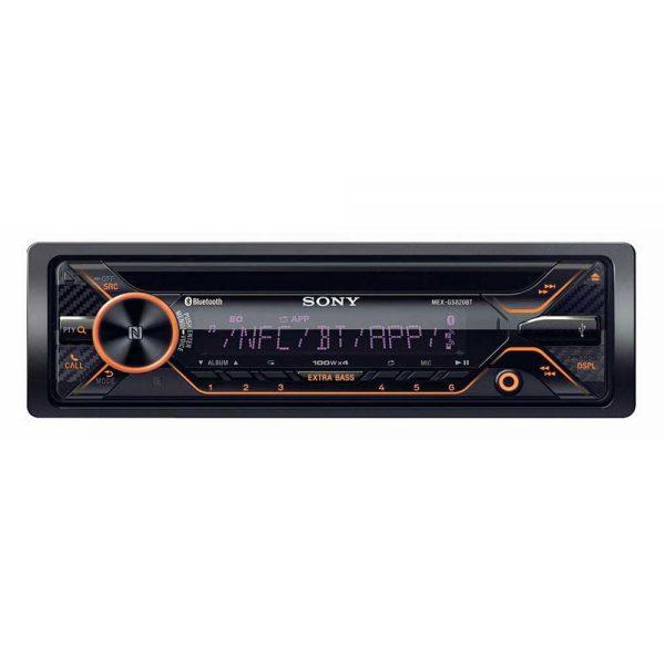پخش کننده صوتی MEX-GS820BT از برند سونی