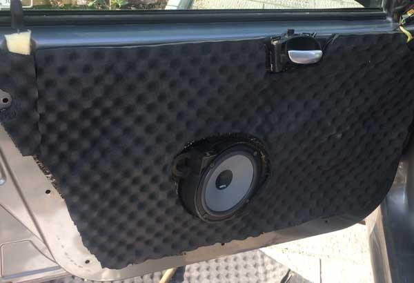 صداگیری،عایق صوتی و دمایی خودرو 206