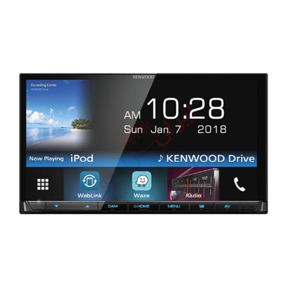 کمپانی کنوود در سال 2018 دستگاه دبل دین مدل DMX7018BTM را با سایز صفحه نمایش ۷ اینچی VGA کاملا لمسی روانه بازار کرد، این دستگاه دکلس (