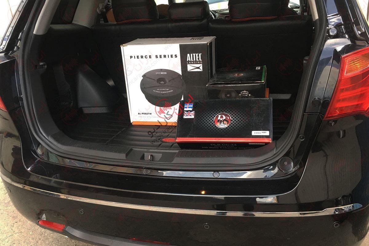 نصب سیستم صوتی هایما S7