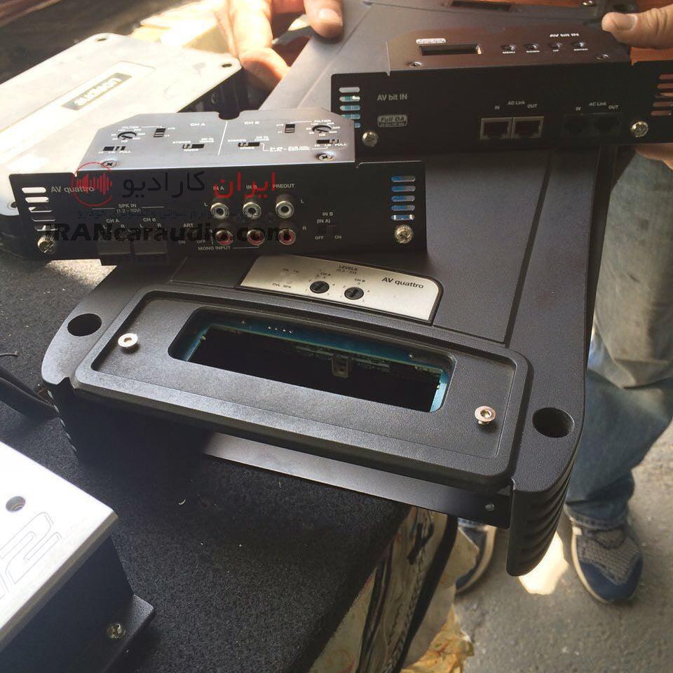 نصب سیستم پژو 206