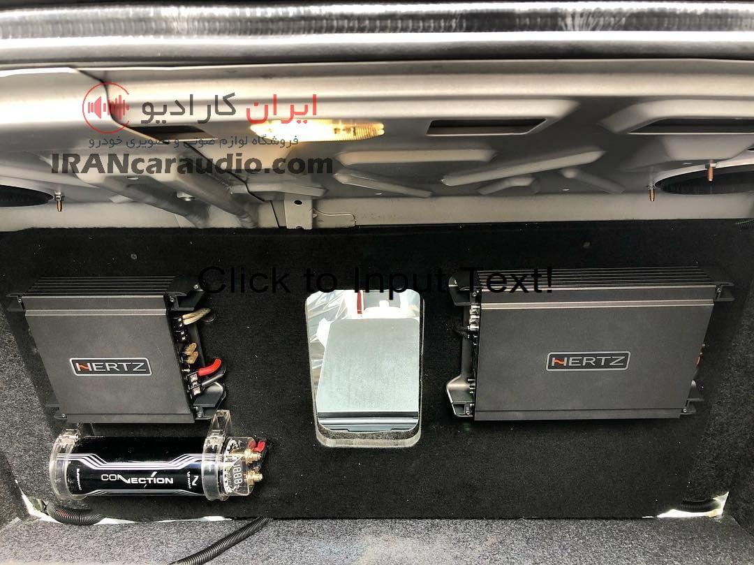 نصب سیستم صوتی دنا