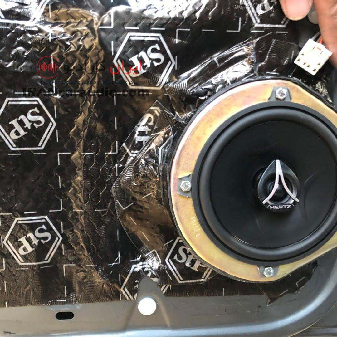 نصب سیستم صوتی h30 cross
