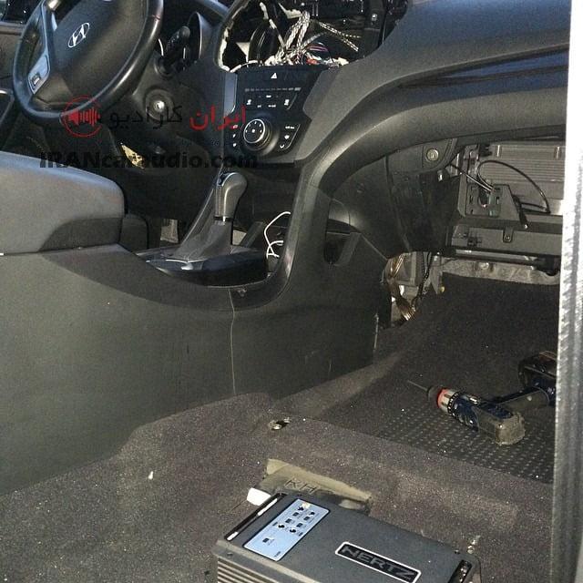 نصب سیستم صوتی هیوندای ix45