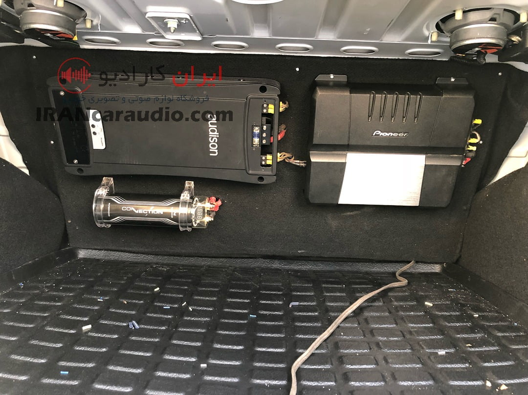 نصب سیستم صوتی ال90
