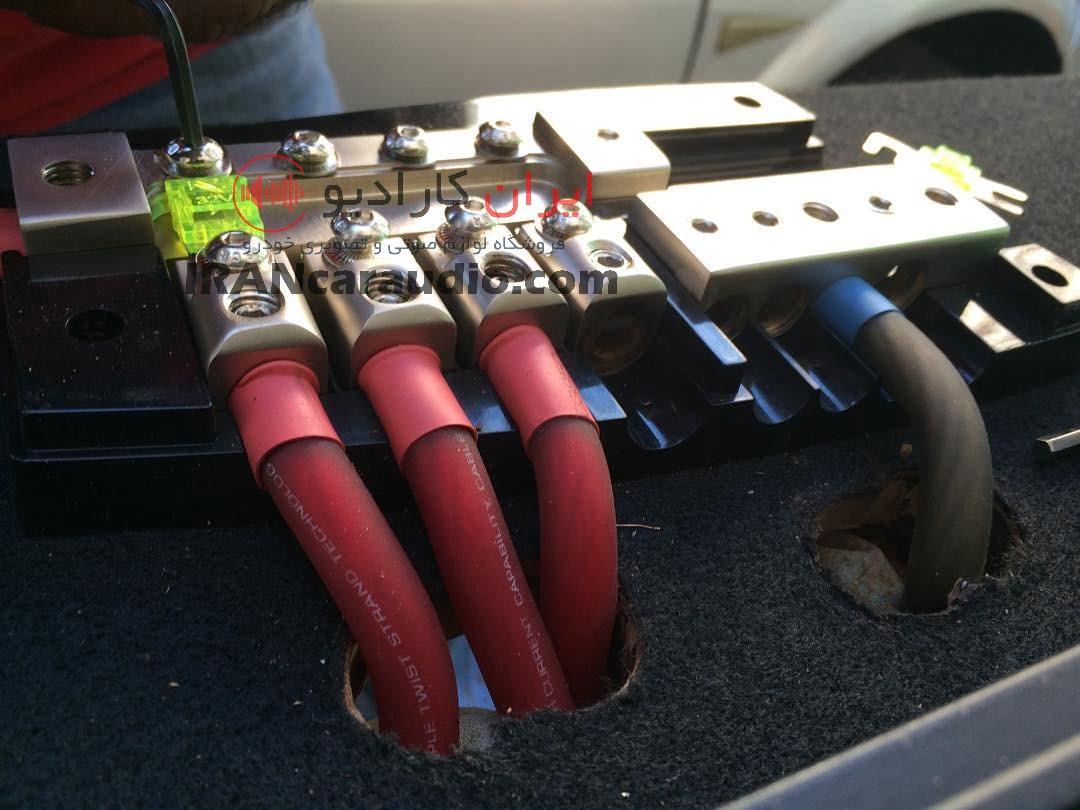 نصب سیستم صوتی مگان