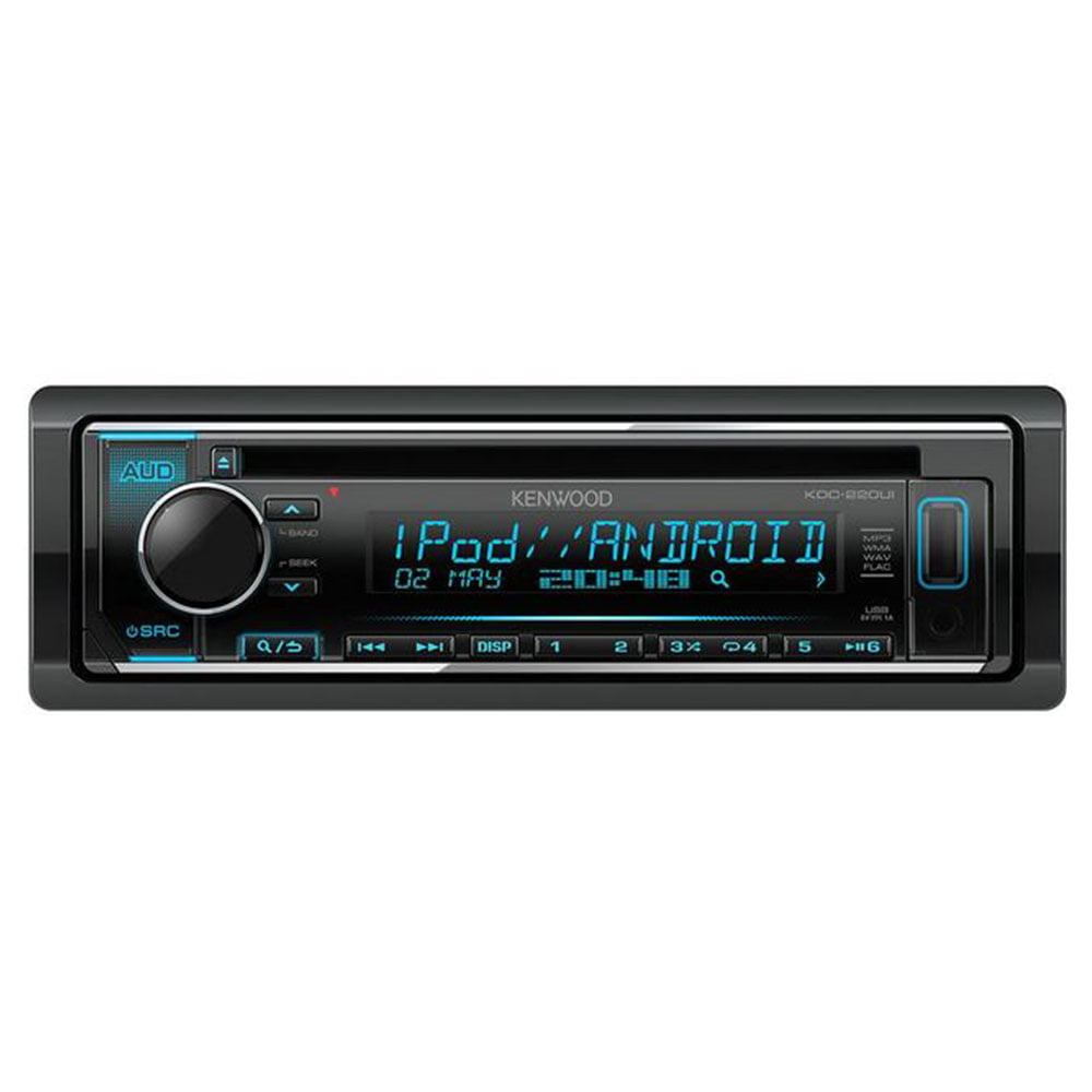 اینپخش صوتی تولید سال 2018 کمپانی کنوود بوده و با تلفن های هوشمند آندروید با استفاده و نصب برنامه Kenwood Music Play و آیفون و iPod از طریق USB سازگار.....