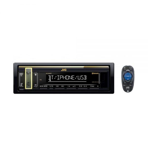 معرفی پخش بدون سی دی خوان جی وی سی مدل KD-X368BT