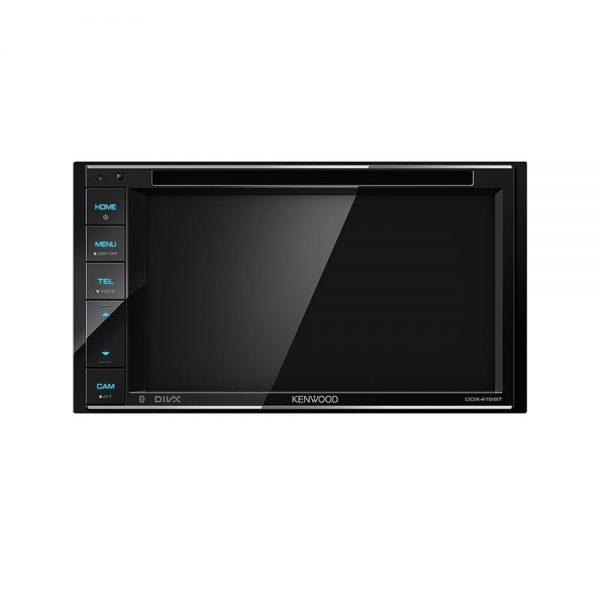 پخش تصویری DDX419BTM تولید سال 2019 کنوود بوده که به روز شده مدل DDX418BTM است. این محصول زیبا می تواند به عنوان یک پخش کننده صوت و تصویرهای مختلف در اتومبیل شما استفاده شود.