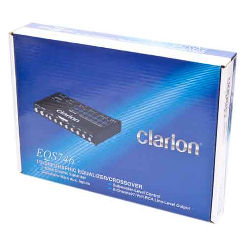 Clarion EQS746 box